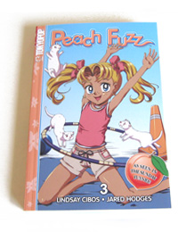 Peach Fuzz Vol. 1 Cover